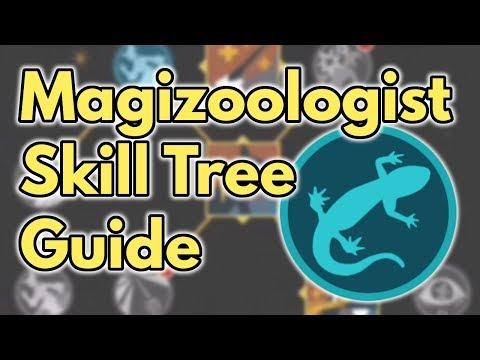 Magizoologist Skill Tree Guide | Wizards Unite
