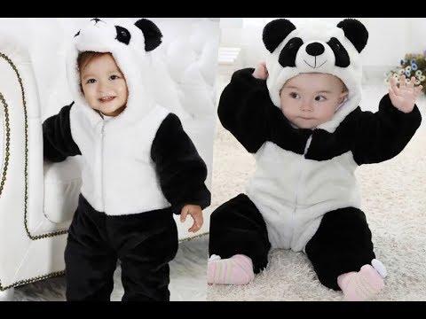 Disfraces de oso panda para niños.