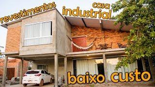 TOUR PELA CASA NOVA ESTILO INDUSTRIAL DICAS COMO CONSTRUIR CASA BARATA   PARTE 3   AMANDA ALVES