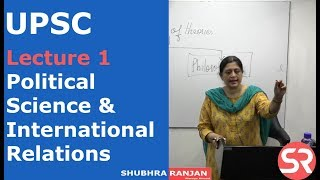 Introduction to Political Science & International Relations Optional for UPSC Mains Examinations.