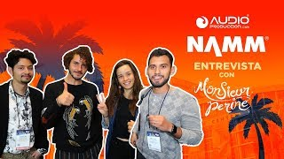 Interview with Monsieur Perine at NAMM!