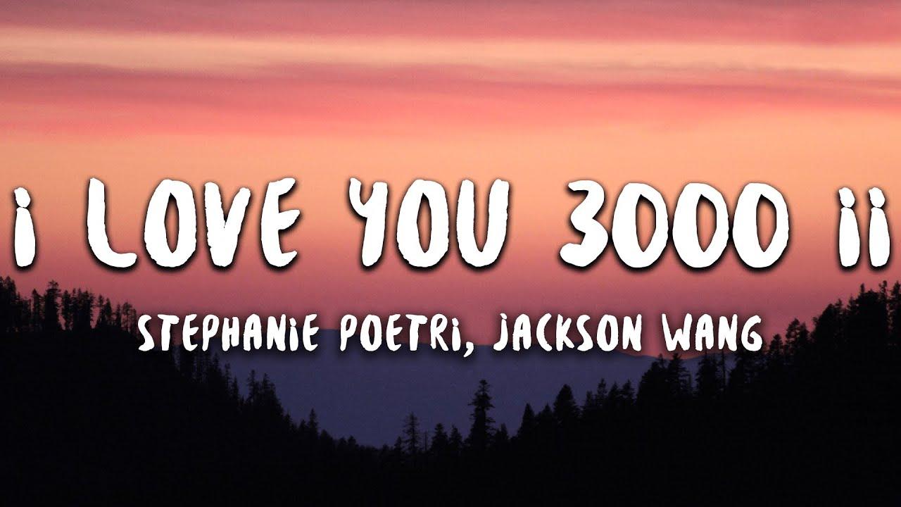 I Love You 3000 II Lyrics