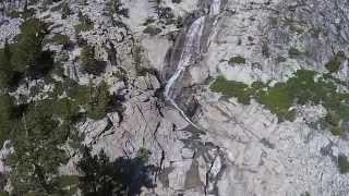 A nice short video with footage of Horsetail Falls - includes drone footage.