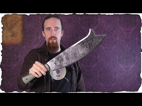 Review: The Baryonyx Machete – Versatility and Cutting Power