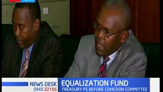 Treasury PS appears before cohesion committee to respond on equalization fund
