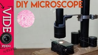 Homemade high magnification Microscope