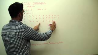 Coin Changing Minimum Number of Coins Dynamic programming