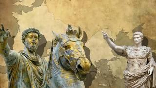 Origine, expansion et déclin de l'Empire romain (cartes animées)
