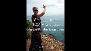 May Greetings from Pastor Kristin