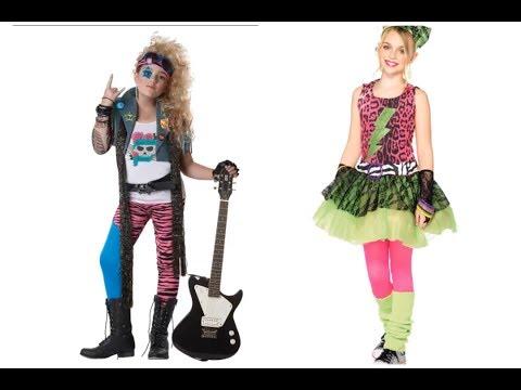 Disfraces de los años 80 para niños
