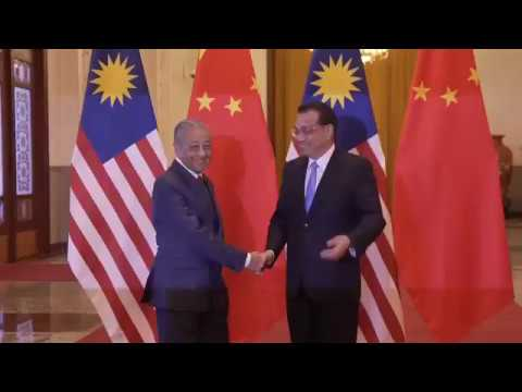 Official Welcoming of Prime Minister's Visit to China