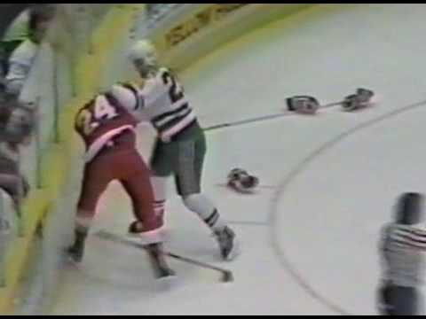 Bob Probert vs Troy Crowder