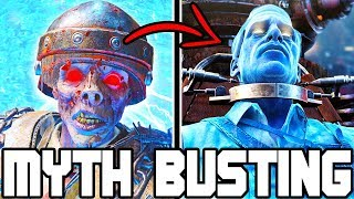 WHAT IF RICHTHOFEN LEAVES DURING THE BOSS BATTLE?? // BLACK OPS 4 ZOMBIES | MYTH BUSTING MONDAYS #4