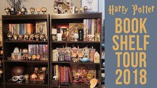 Harry Potter Bookshelf Tour 2018