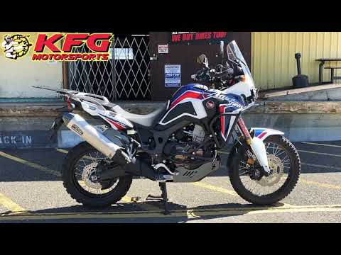 2017 Honda Africa Twin DCT in Auburn, Washington - Video 1