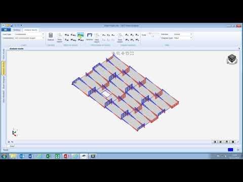 Analysis with Composite Floor Designer