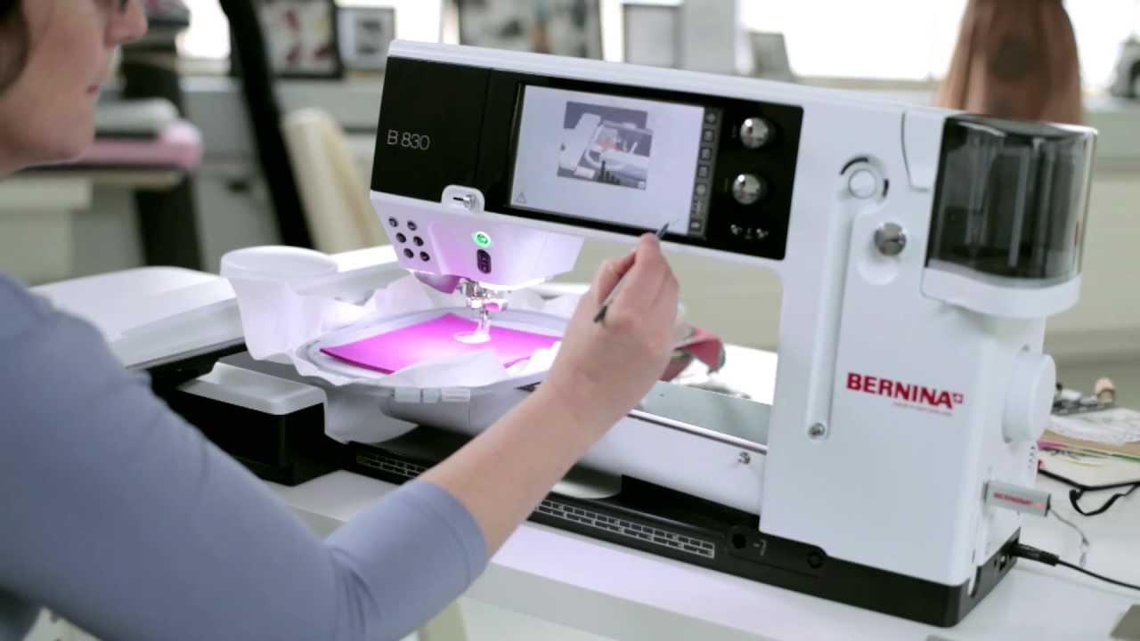 BERNINA CutWork: Desarrollar un motivo con el sistema de bordado de BERNINA