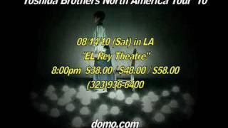 Yoshida Brothers 30 sec CM for El Rey Theatre, Los Angeles 吉田兄弟