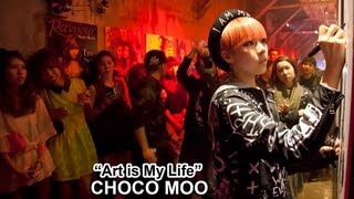 Japanese Artist Choco Moo Art Is My Life - Interview & Live Painting