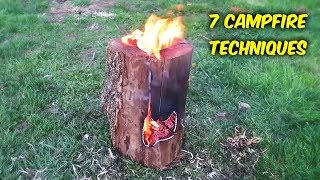 7 Campfire Techniques Every Man Must Know About