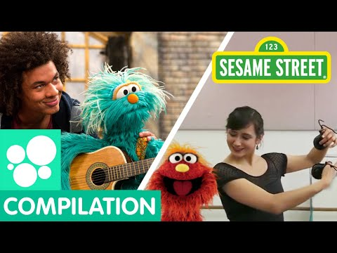 on Sesame Street with Ballet Hispanico