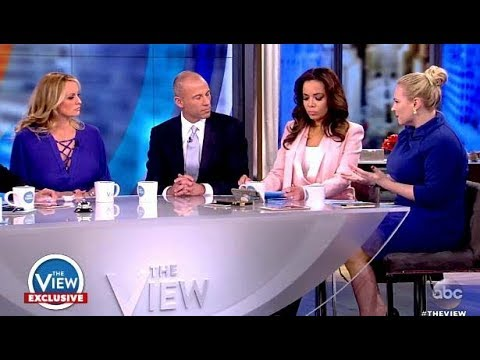Meghan Does What She Does To Make Stormy Daniels Feel Uncomfortable (The View)