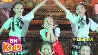Mái Trường Em Học Bao Điều Hay - Bé Khai Xuân   Nhạc Thiếu Nhi Vui Nhộn