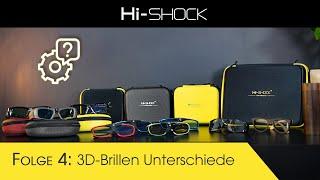 Hi-SHOCK 3D Brillen Unterschiede und Infos zu 3D Technologien [Vlog #4]
