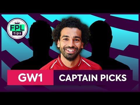 GW1: TOP 3 FPL CAPTAINCY PICKS | Gameweek 1 | Fantasy Premier League Tips 2019/20