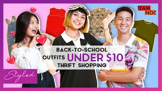Back-To-School Outfits UNDER $10! Thrift Shopping