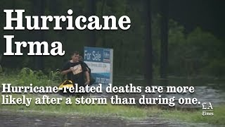 Hurricane Irma: Hurricane Deaths And How They Happen | Los Angeles Times