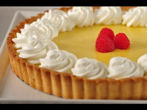 Video Lemon Curd Tart Recipe Demonstration - Joyofbaking.com