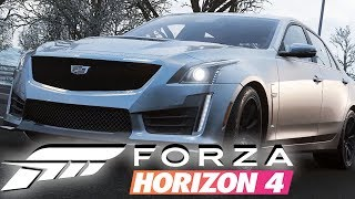 Forza Horizon 4 | #4 - Snow Covered Muscle Cars