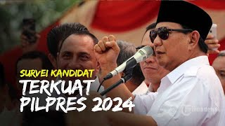 Prabowo Subianto Jadi Kandidat Terkuat Pilpres 2024 versi Survei Indo Barometer