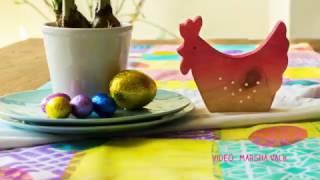 Gelli Arts® Printed Easter Table Runner