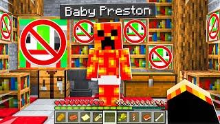 7 Secrets about Baby Preston! - Minecraft