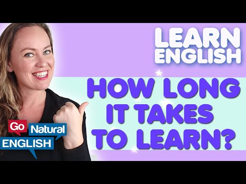 How long does it take to learn to speak English Fluently?