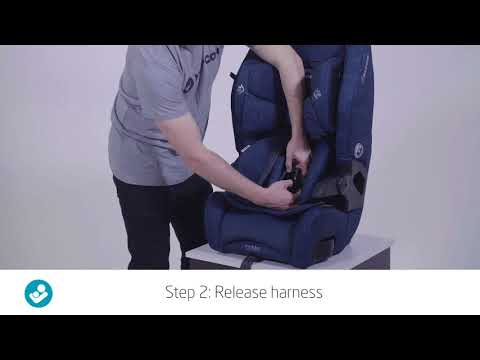 Maxi-cosi Luna Booster Video - How to remove infant insert?