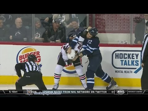 Chris Thorburn vs. Dan Carcillo