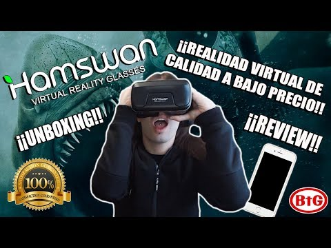 ¡¡REALIDAD VIRTUAL A PRECIO DE RISA!! Hamswan Virtual Reality Glasses | Unboxing - Review - BtG