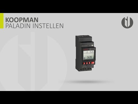 KOOPMAN | PALADIN EASY SCHAKELKLOK INSTELLEN