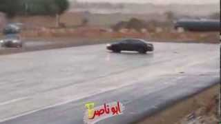 Accord drift in the rain