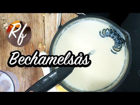 Bechamelsås är en vit grundsås med mjölk, smör, grädde och mjöl. Bechamelsås används till många såser och rätter som stuvningar, gratänger samt suffléer. >