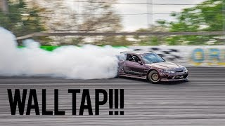1000HP Nitrous 2JZ S15 Testing - RIDING THE WALL