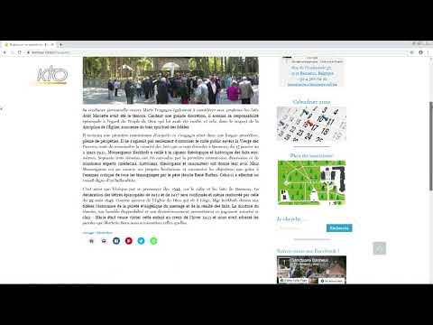 Le site web du Sanctuaire de Banneux
