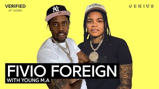 "Fivio Foreign & Young M.A ""Move Like A Boss"" Official Lyrics & Meaning 
