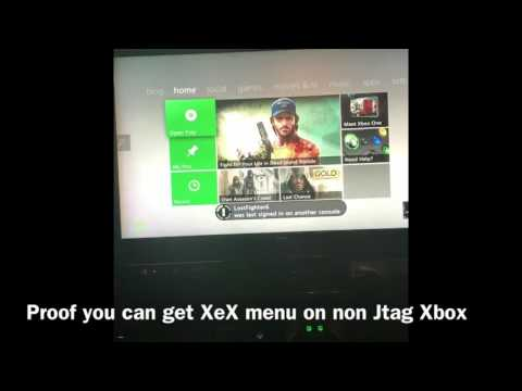 How to Install XeX Menu on a Retail Xbox!!! (PROOF) - смотреть