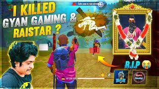 I Killed Gyan Gaming And Raistar ? Only AWM Custom - Garena FreeFire