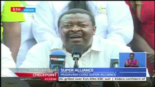 CheckPoint: Musalia Mudavadi urges people to join his super alliance that will bring together like m