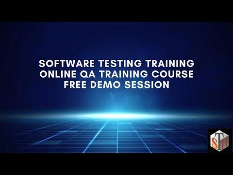Software Testing Training: Online QA Training Course Free Demo ...